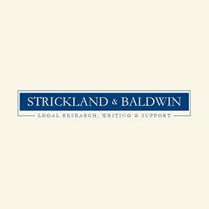 Strickland & Baldwin - ad image