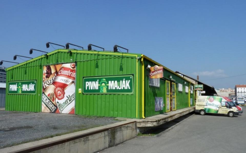 Pivní Maják - prodej piva Slivenec