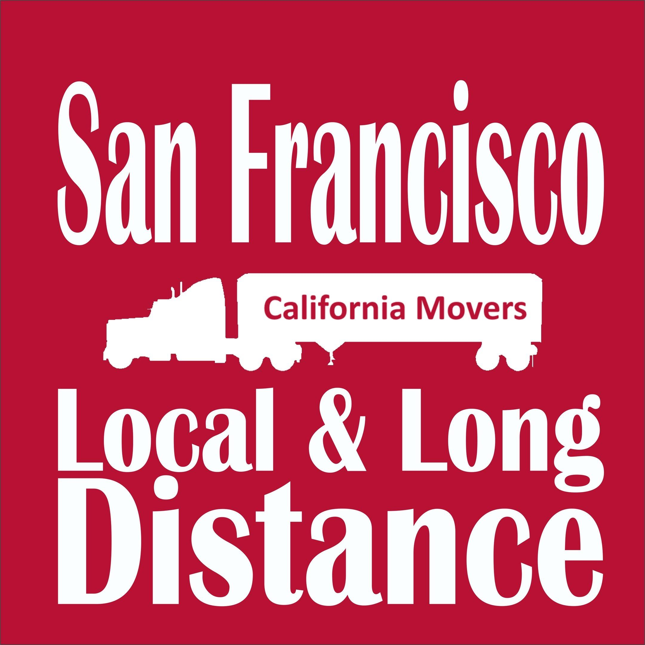 California Movers Local & Long Distance Moving Company