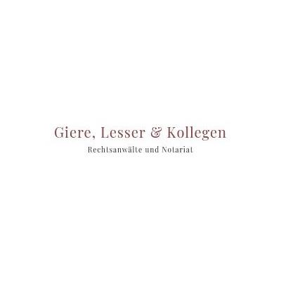 Bild zu Rechtsanwaltskanzlei Giere, Lesser & Kollegen in Edemissen