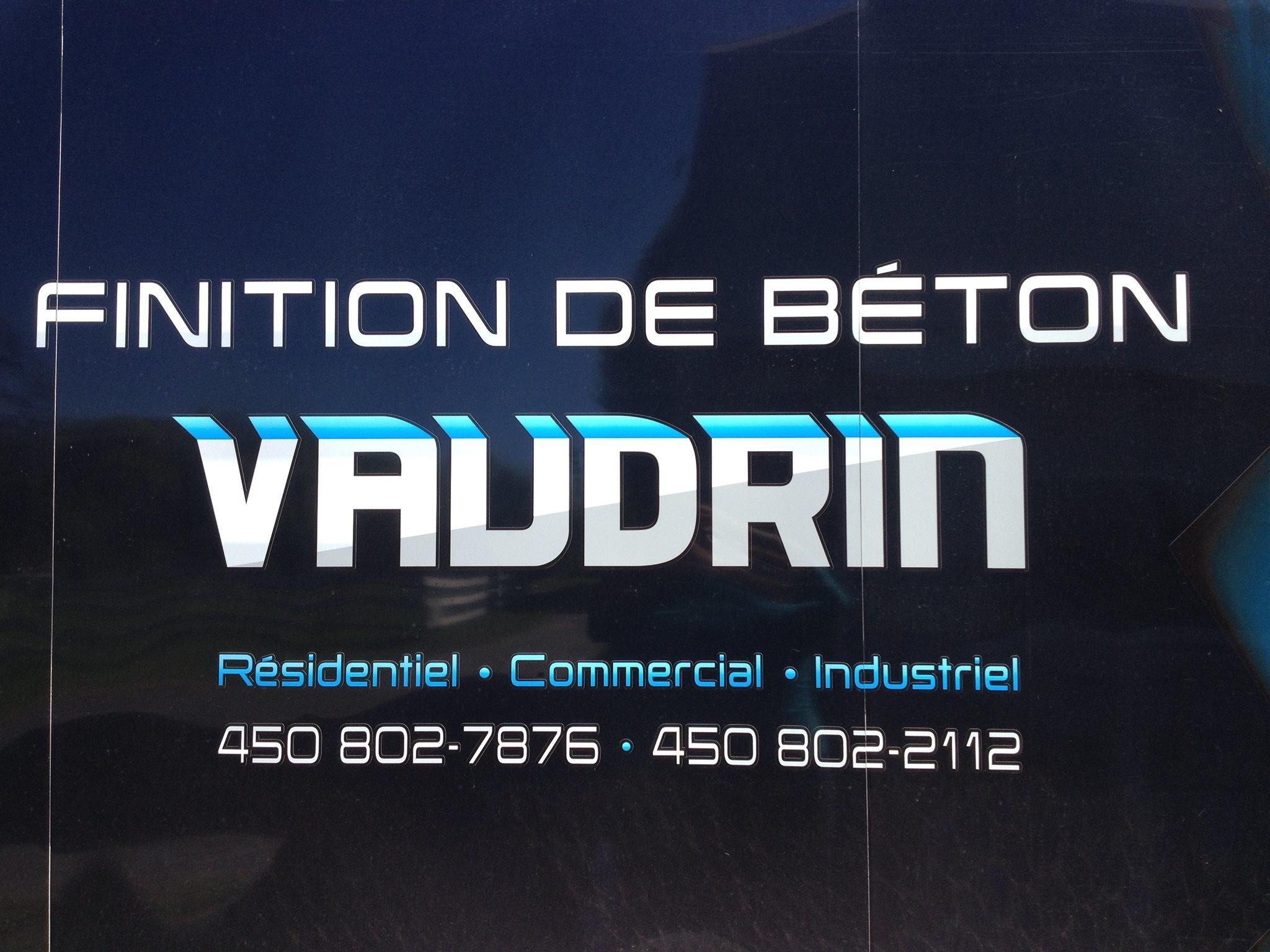 Finition De Béton Vaudrin à Salaberry-de-Valleyfield