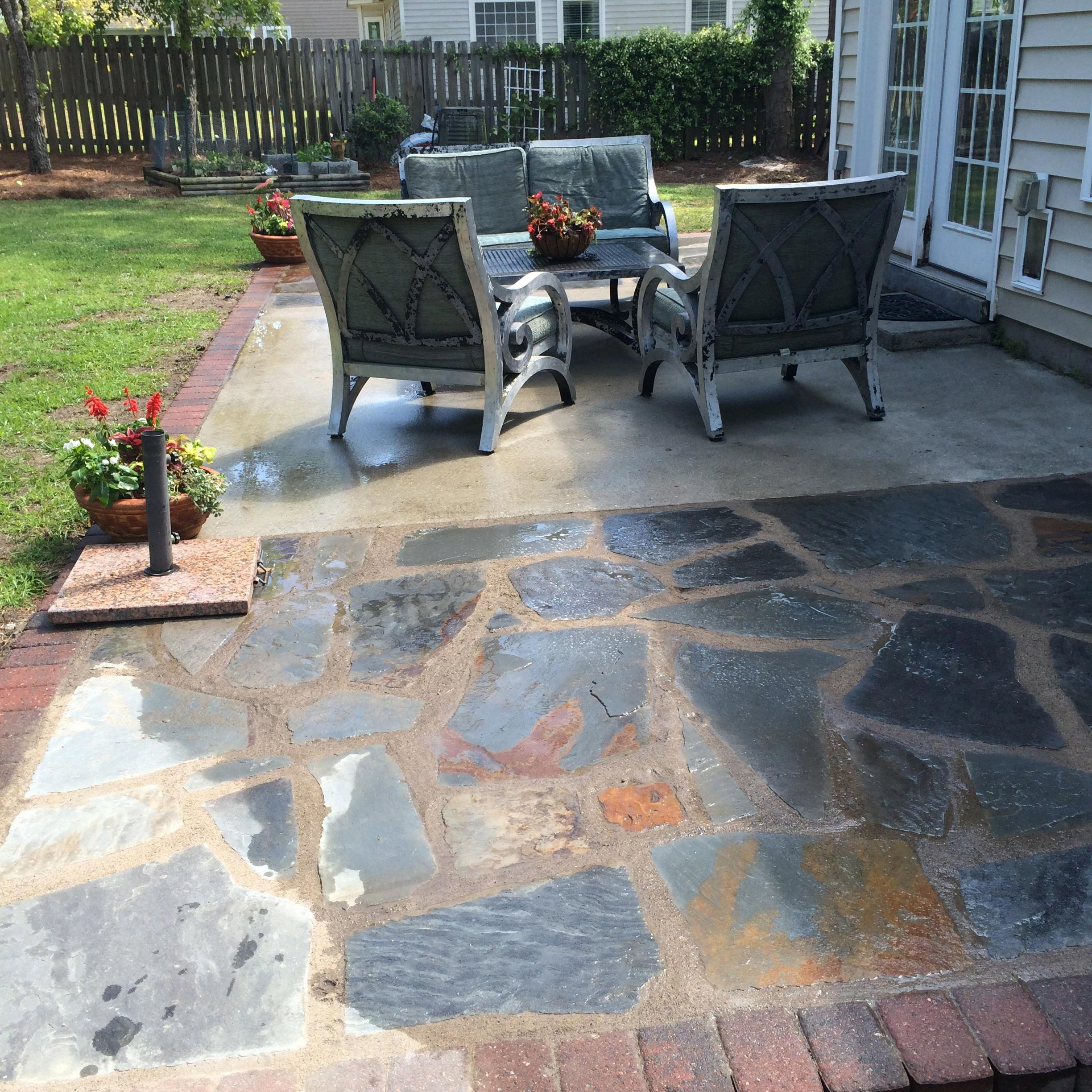 Green and clean landscaping in greensboro nc 27407 for Landscaping rocks greensboro nc