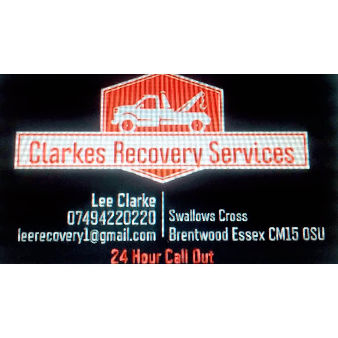 Clarkes Recovery - Brentwood, Essex CM13 1LJ - 07496 548725 | ShowMeLocal.com