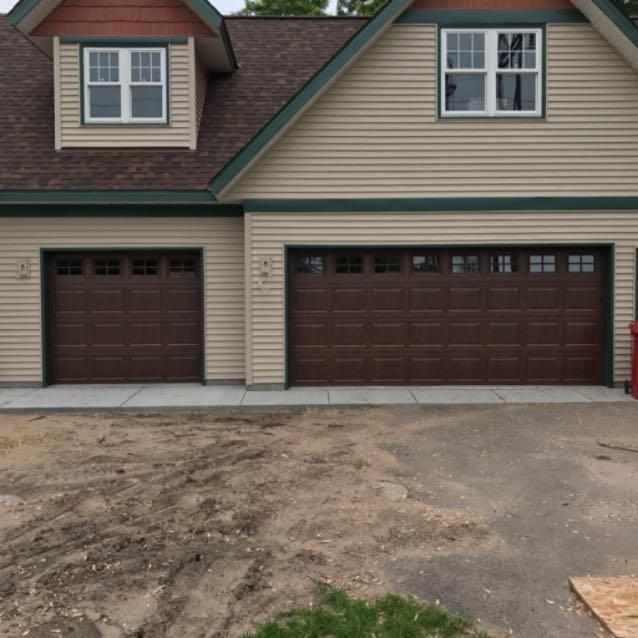 Garage door 4 less blaine minnesota mn for Garage doors blaine mn