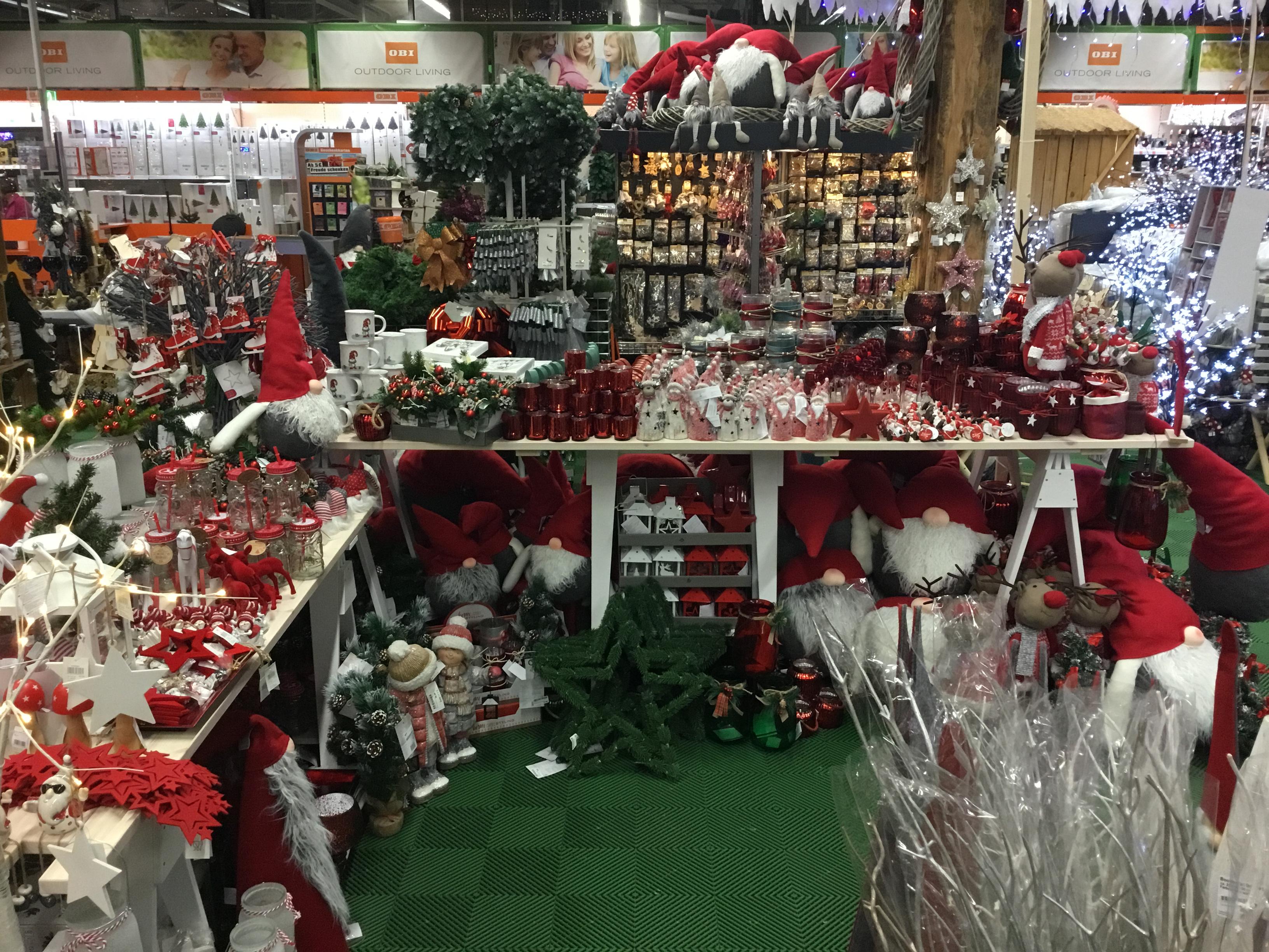 Weihnachtsmarkt im OBI Waldshut