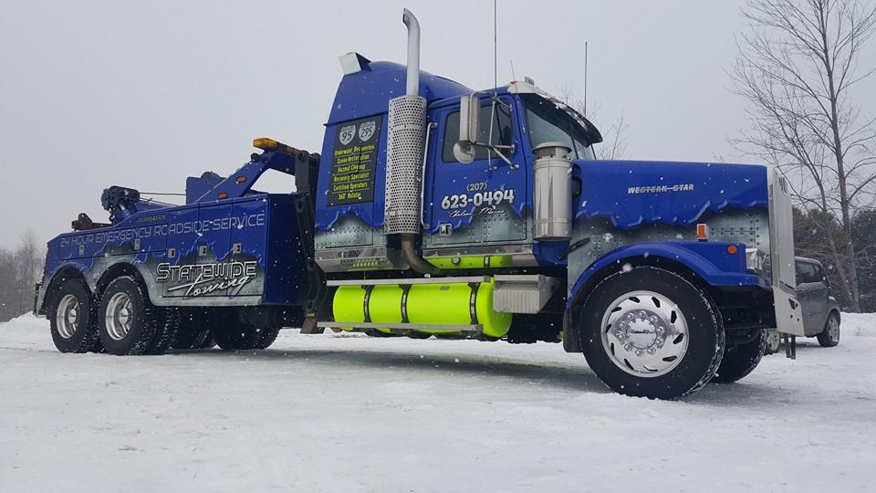 Statewide Towing Inc Augusta Maine Me