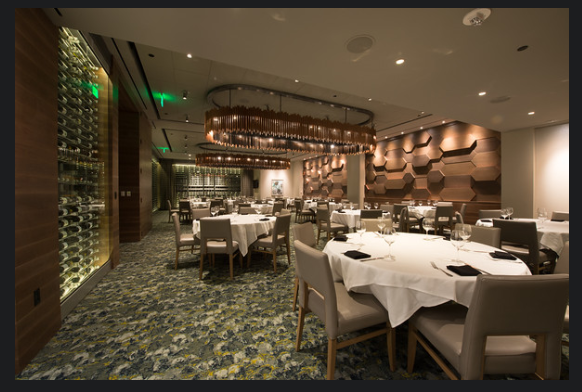 Del Frisco's Double Eagle Steakhouse Boston Prudential Room private dining room