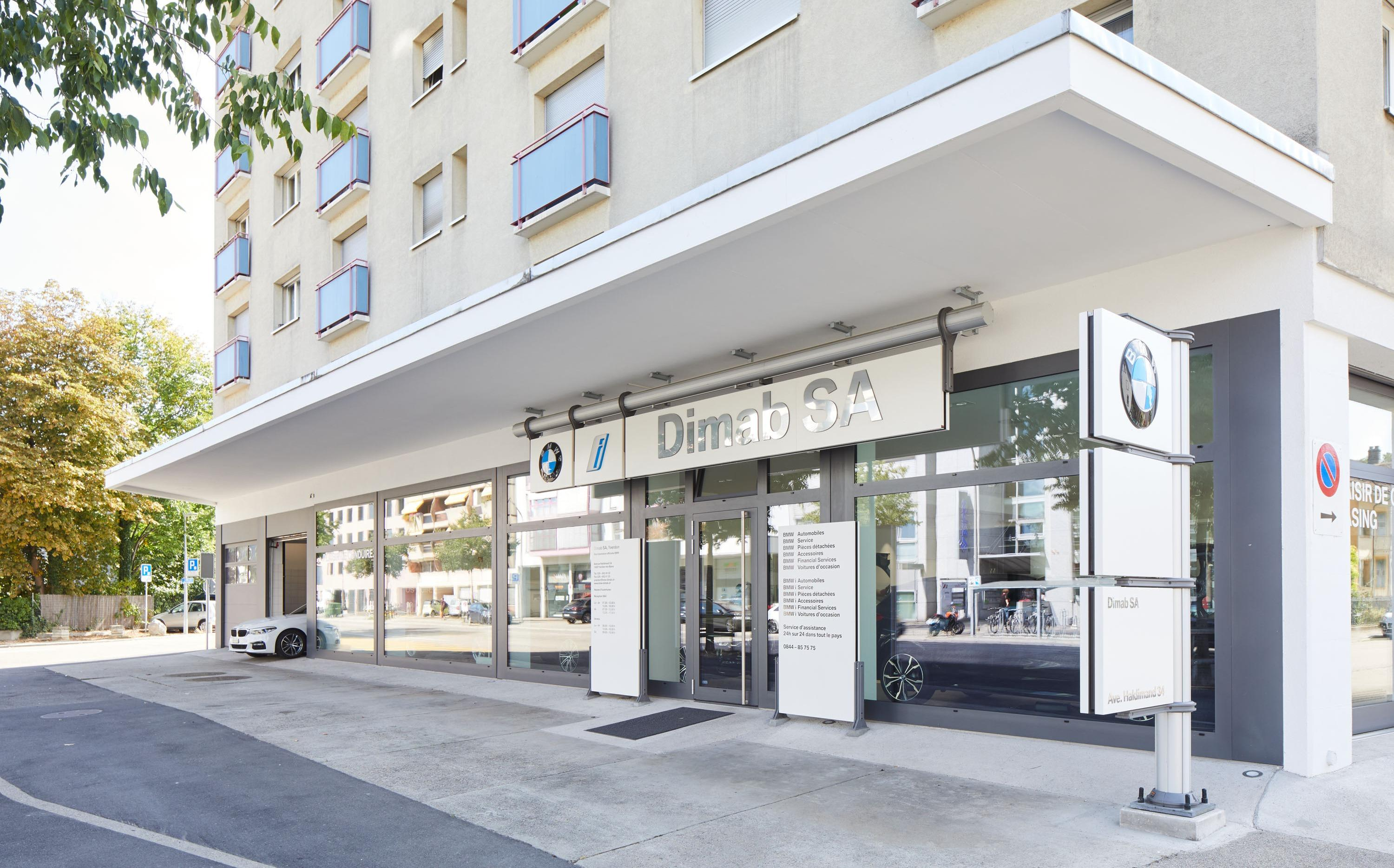 DIMAB Yverdon - Concessionnaire BMW et Point Service MINI