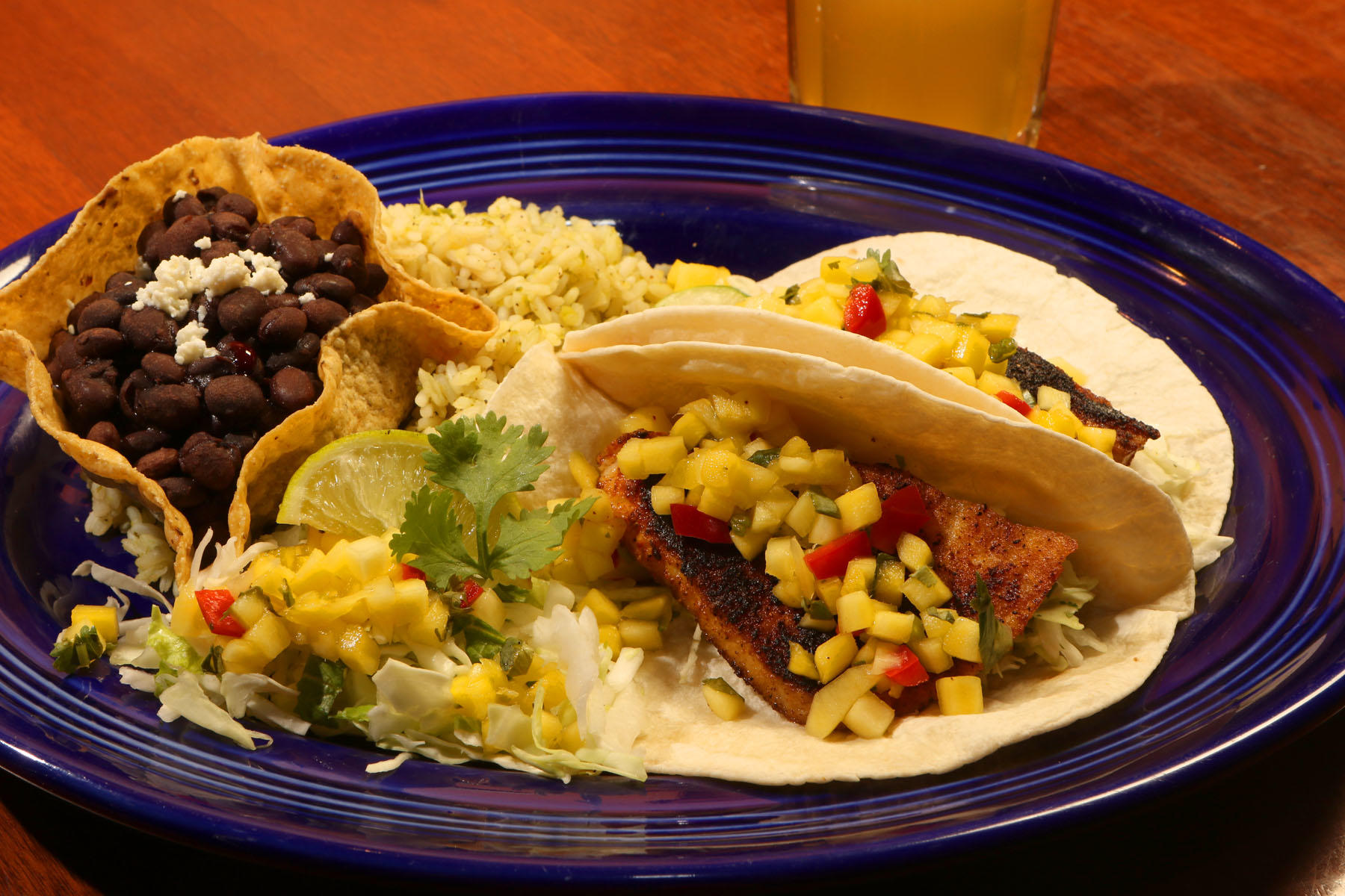 Salsa brava fresh mexican grill coupons near me in for Fish store colorado springs