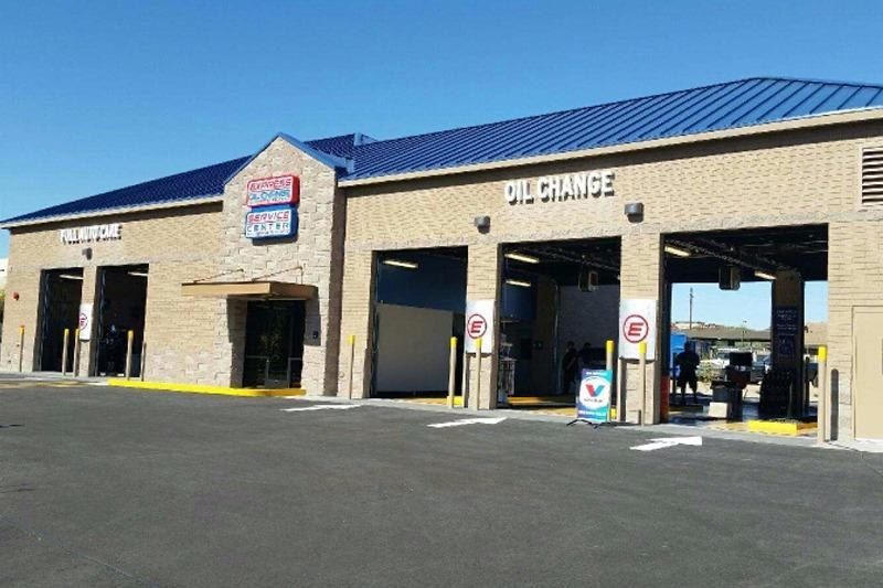 We're more than just an oil change.