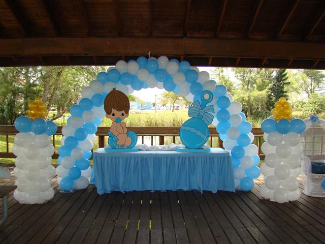 Baby shower for Baby shower canopy decoration