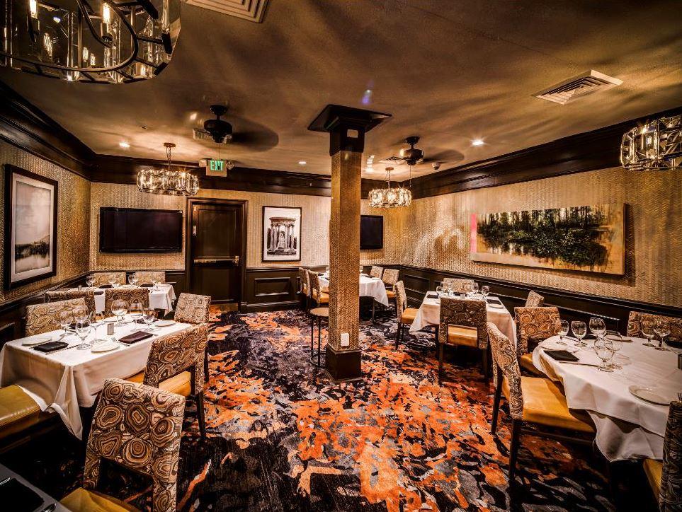 Del Frisco's Double Eagle Steakhouse Denver Dakota Room private dining room