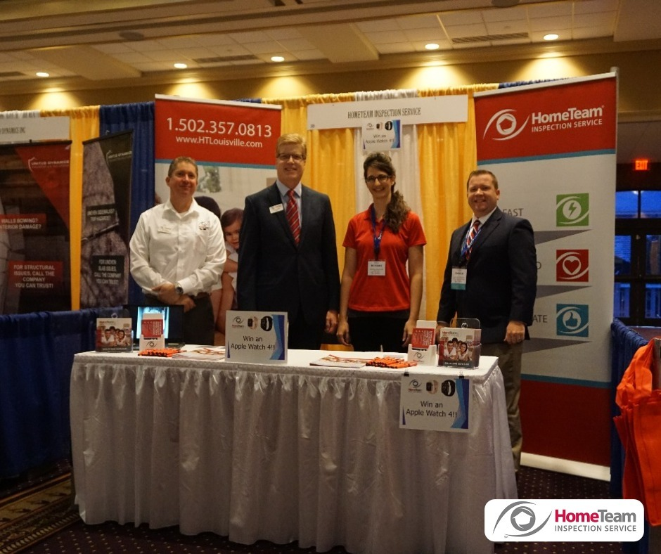 Catch us out and about at different events! HomeTeam Inspection Service Louisville (502)785-8142