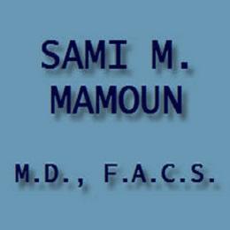 Sami M Mamoun M.D. F.A.C.S.