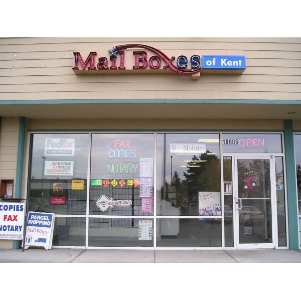 Mail Boxes of Kent - Kent, WA - Courier & Delivery Services
