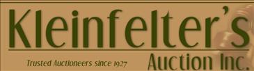 Kleinfelter's Auction Inc.