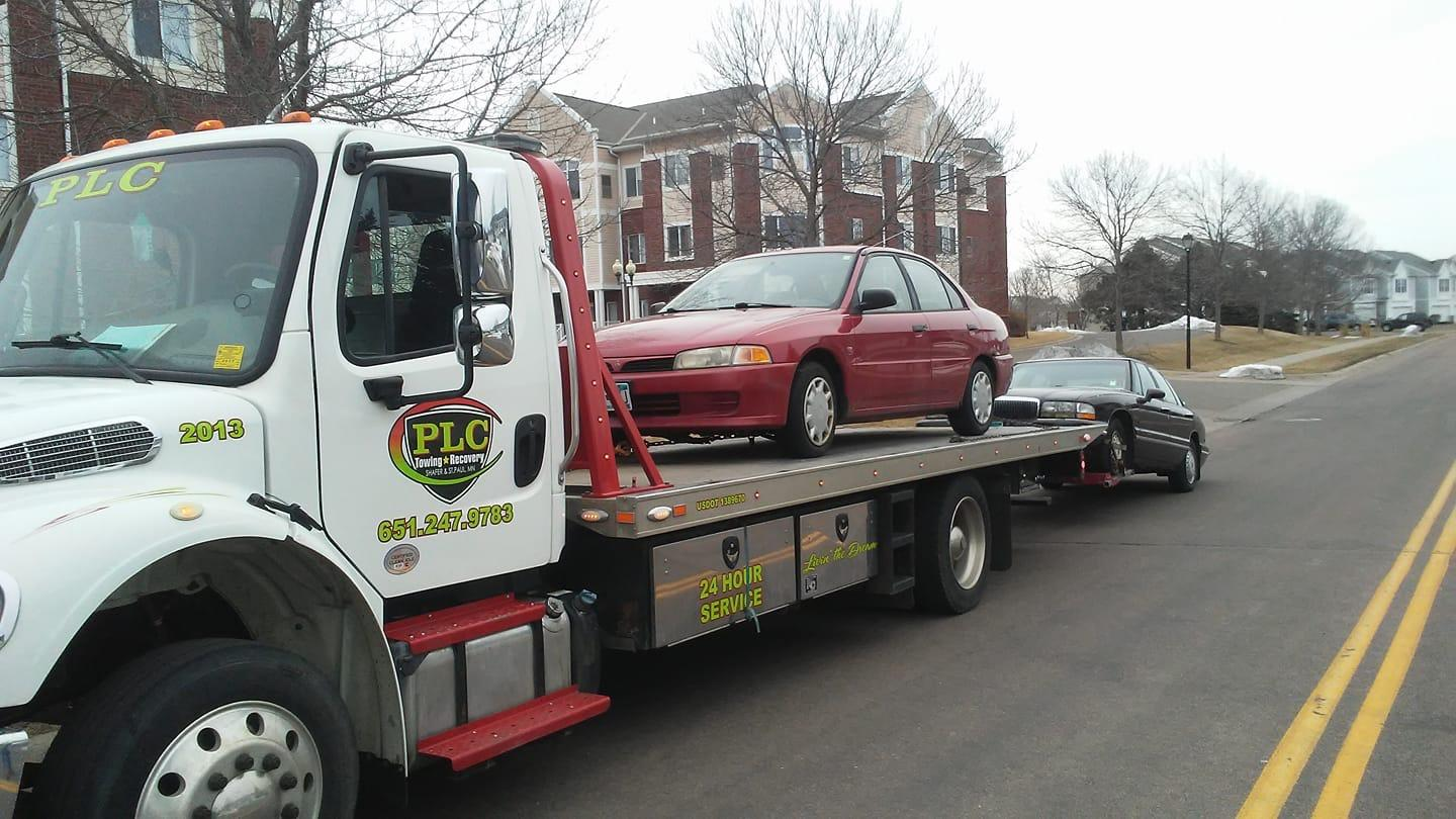 Plc Towing And Recovery Saint Paul Minnesota Mn