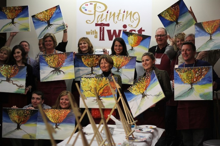 painting with a twist in avon oh 44011