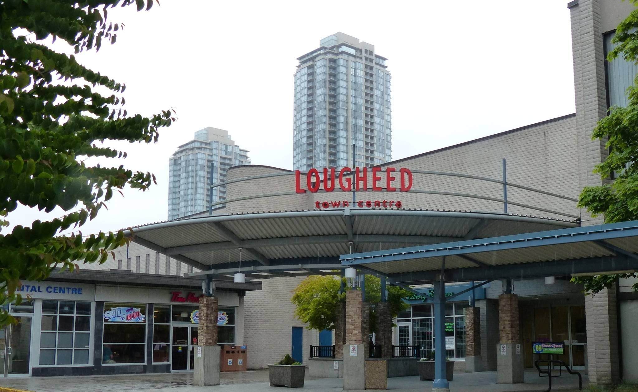 Lougheed Town Centre in Burnaby