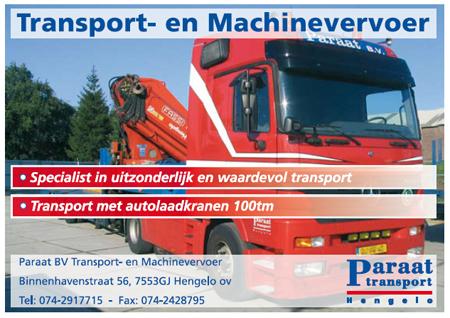 Paraat Transport- en Machinevervoer