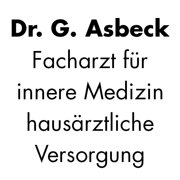 Bild zu Dr. med. Gert Asbeck in Wuppertal