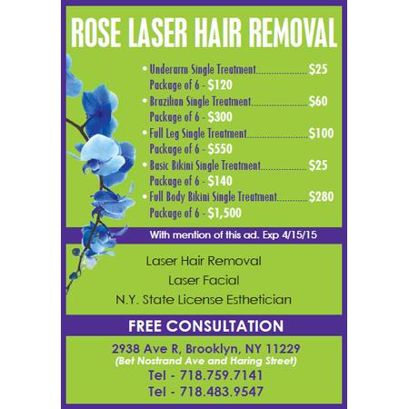 Rose Laser Hair Removal