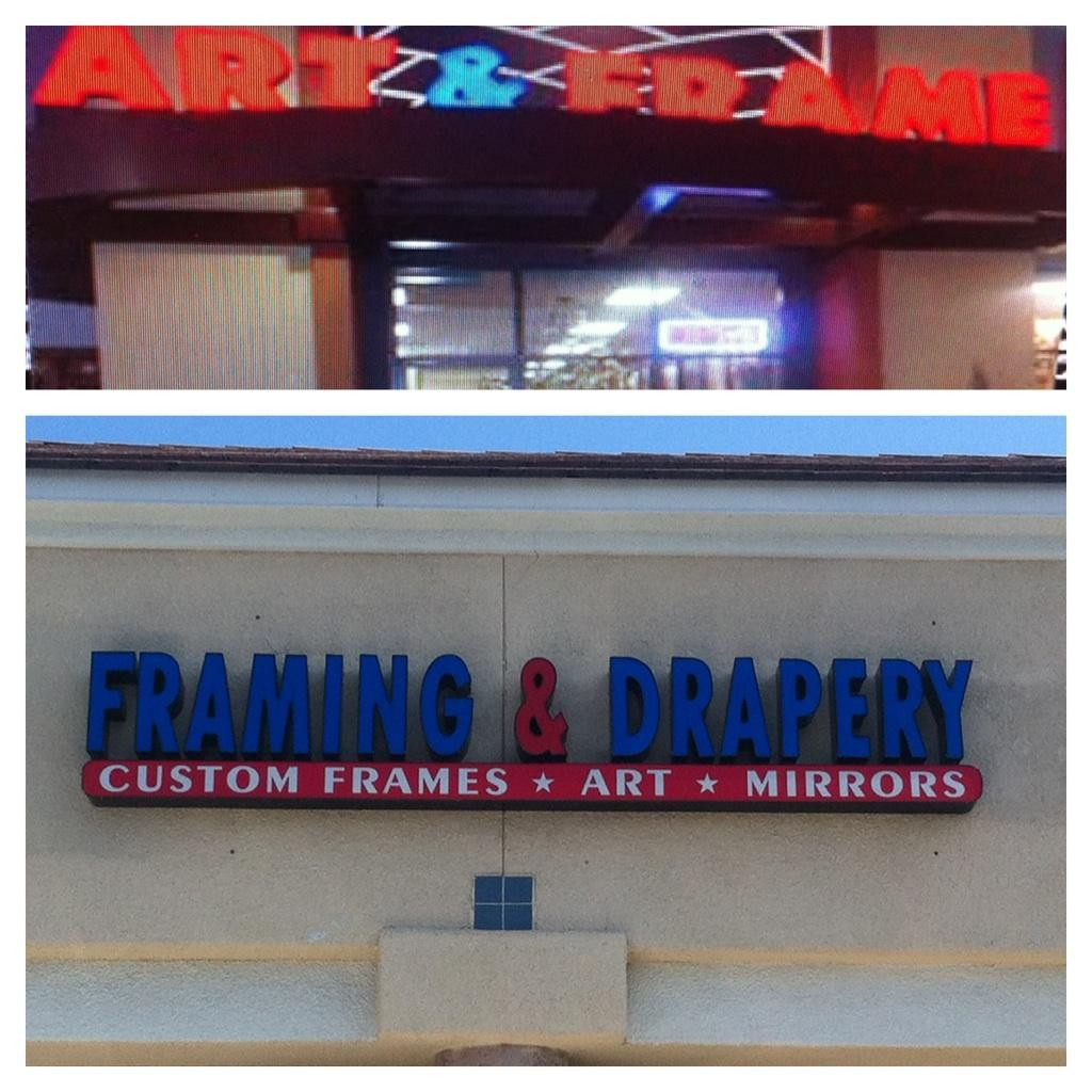 Art & Frame- Custom Framing-  Custom Drapery -Custom Mirrors - Framing  (Moved From Ladera Ranch)