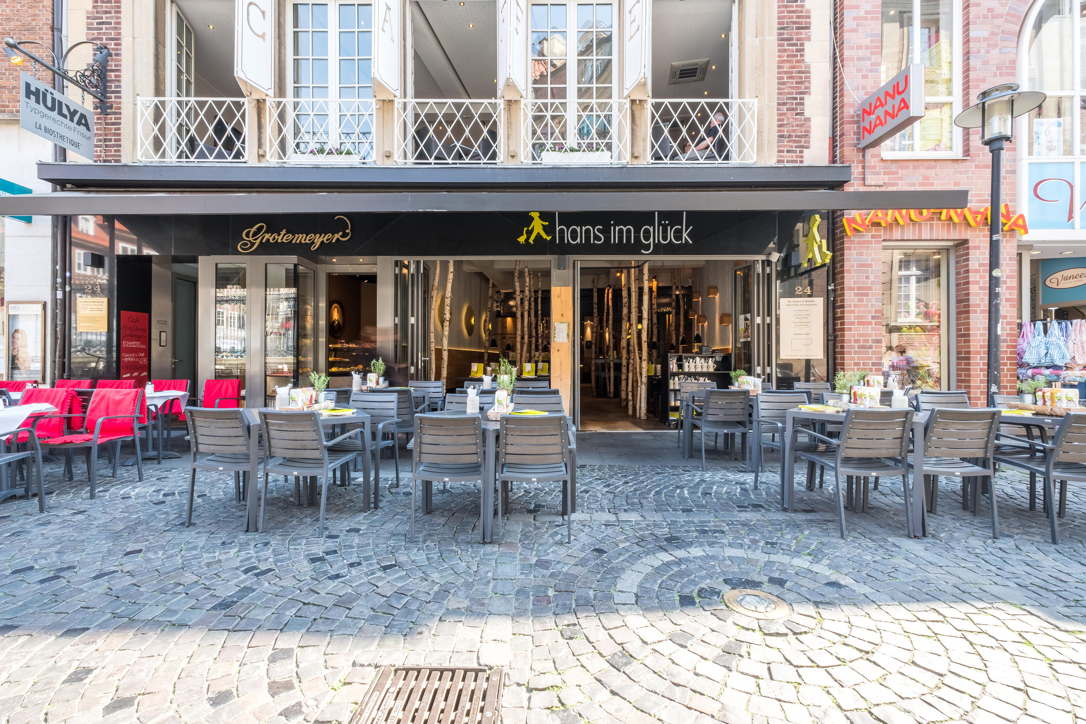 HANS IM GLÜCK Burgergrill & Bar, Salzstraße 24 in Münster