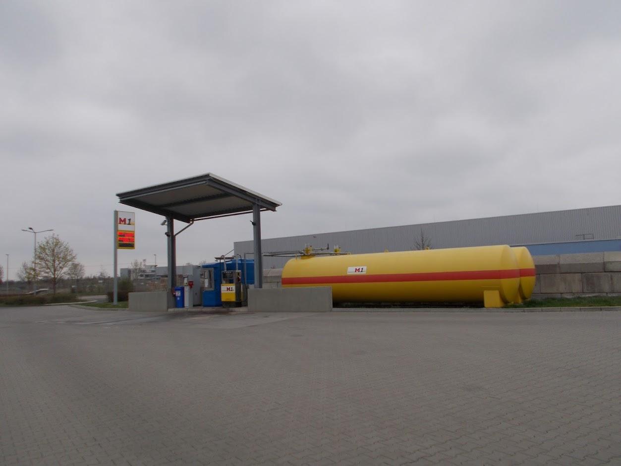 Bild der M1 Leipzig