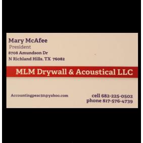 MLM Drywall & Acoustical, LLC