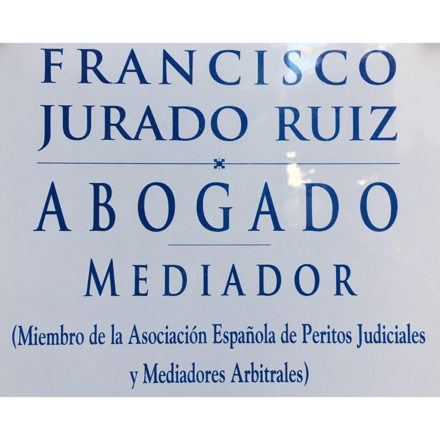 Abogado Francisco Jurado Ruiz