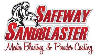 A Safe-Way Sandblasting Booth