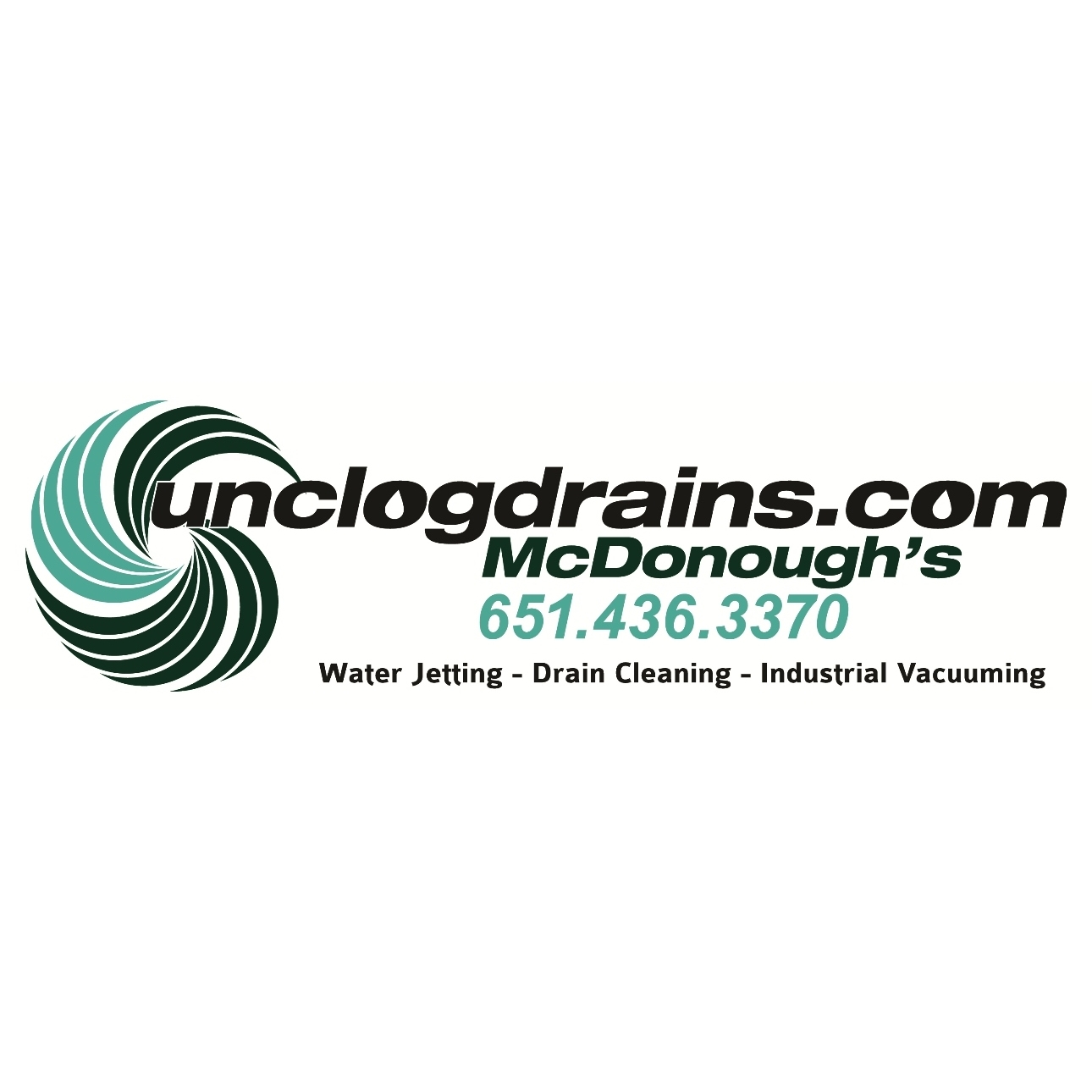 McDonough's - St Paul MN Sewer, Water Jetting, and Drain Cleaning