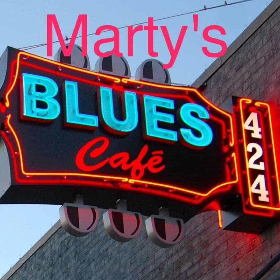 Marty's Blues Cafe' - Philadelphia, MS - Restaurants