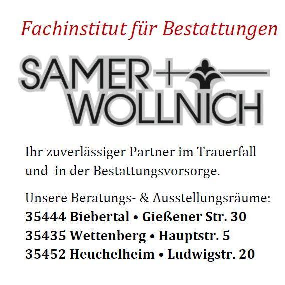 Bild zu Bestattungen Samer und Wollnich in Biebertal