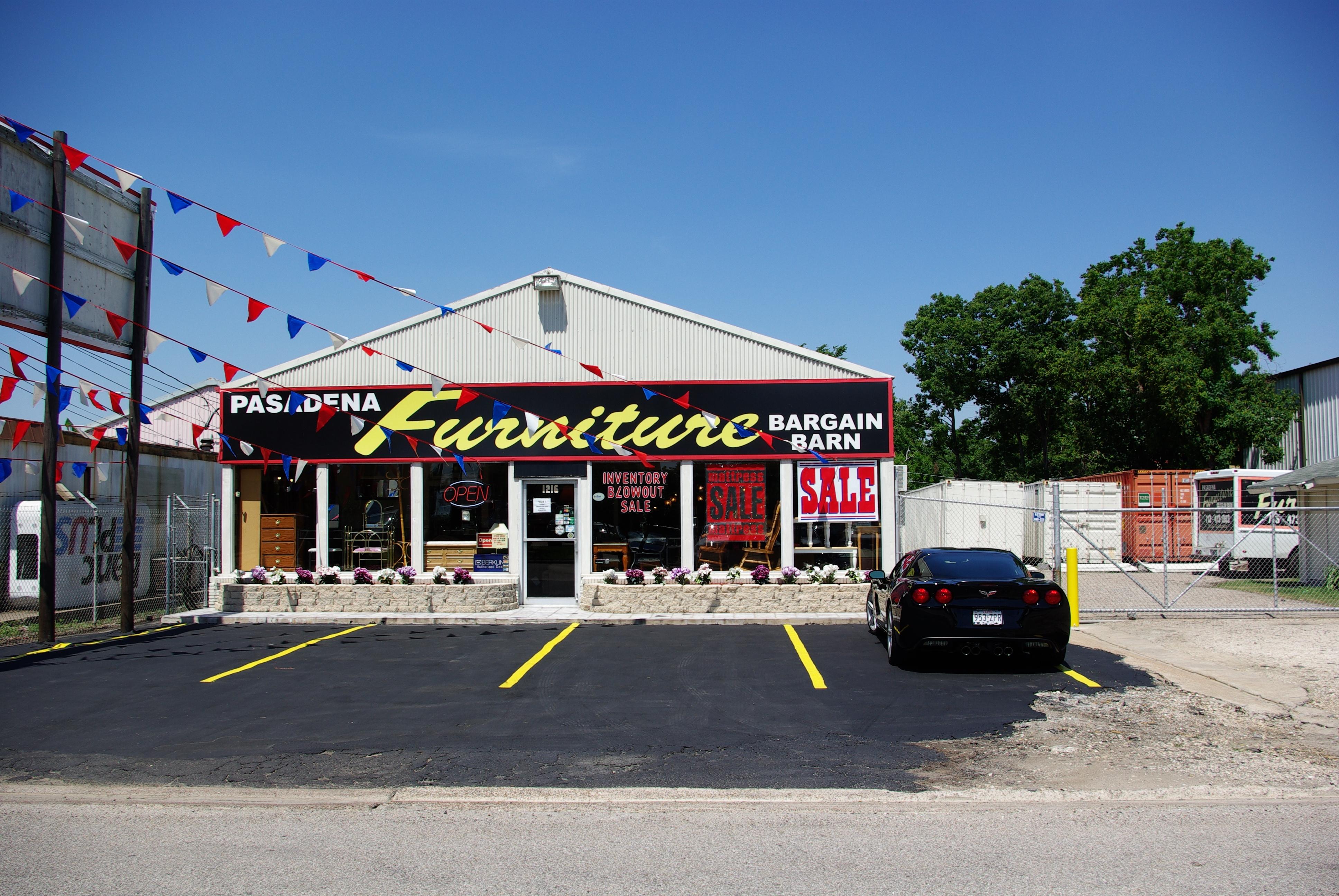 Pasadena Furniture Bargain Barn 1216 Center St Pasadena ...