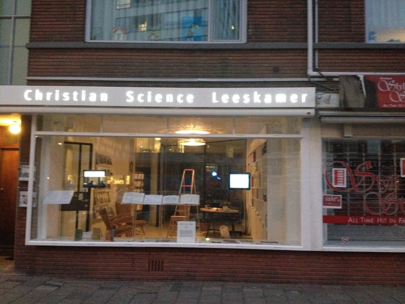 Christian Science Leeskamer