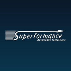 Superformance Foreign Auto Repair Logo