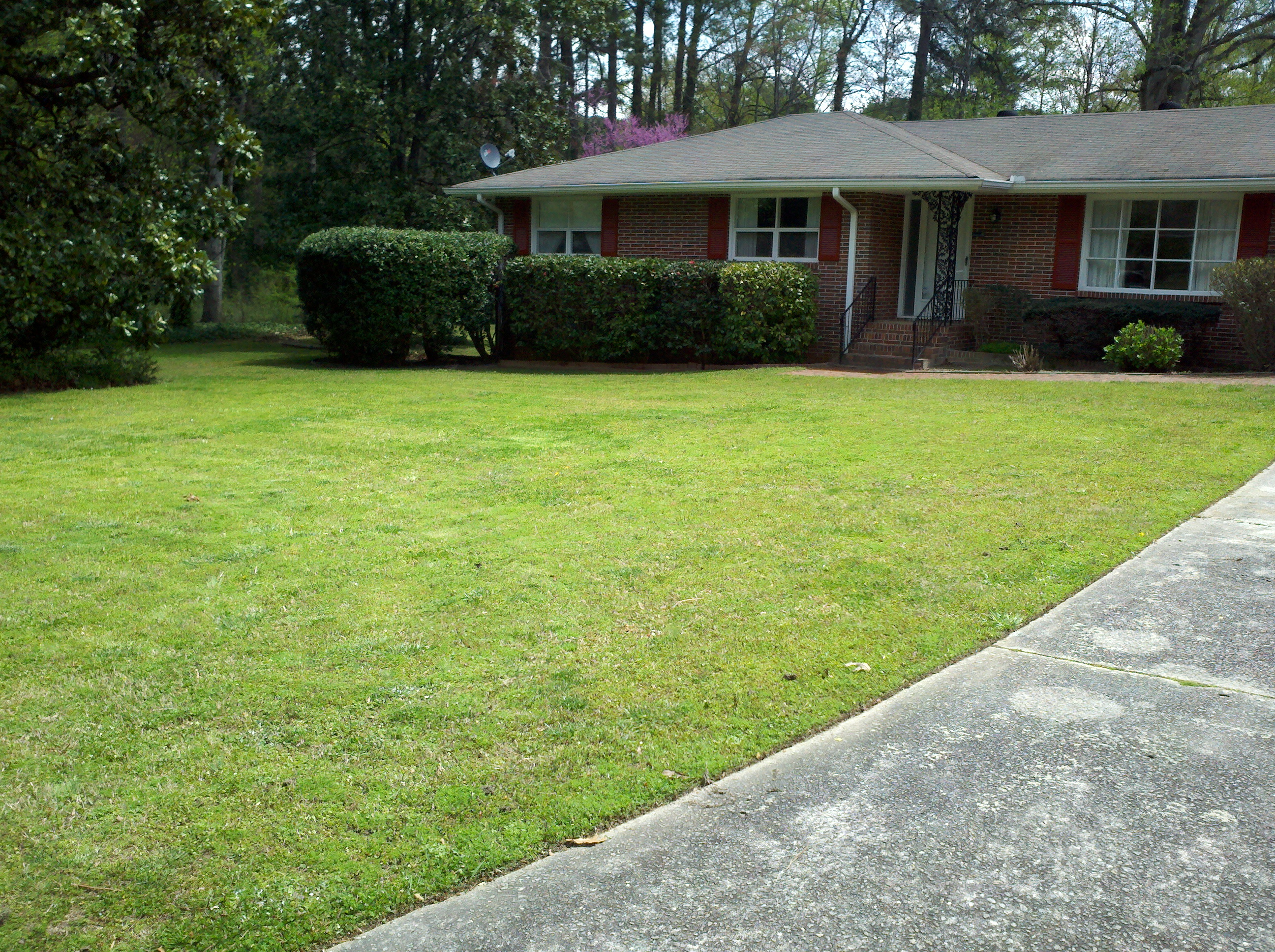 K n lawn maintenance lawrenceville georgia ga for Lawn care and maintenance