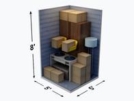 5x5 Storage Units Near  3715 Horseshoe Lake Road