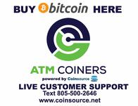 ATM Coiners Bitcoin ATM Houston (833)451-0105