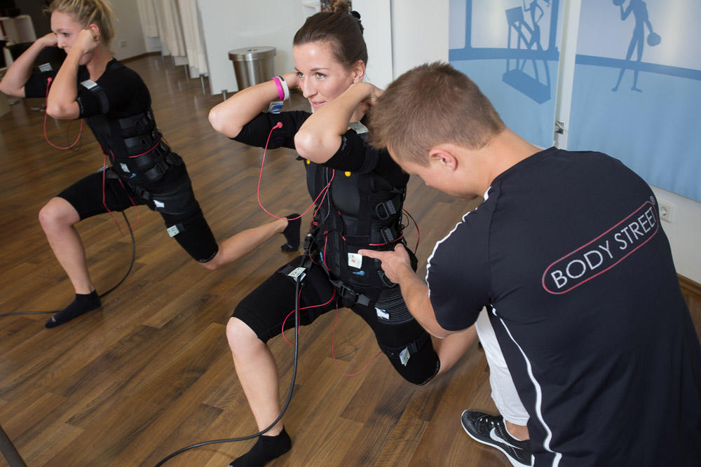 Trainingssituation im Bodystreet Studio Herford Zentrum