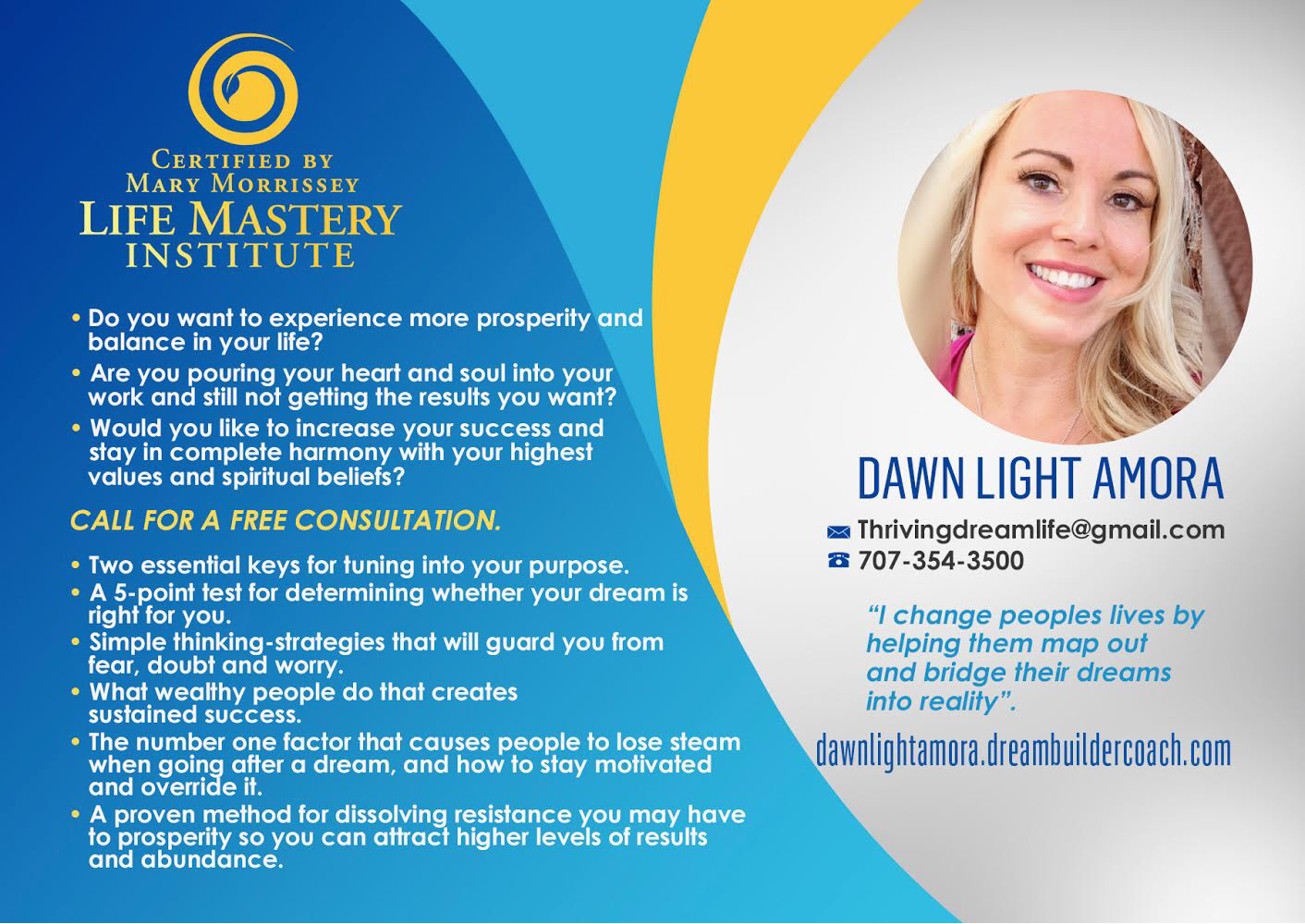 Dawn Light Amora: Love and Life Purpose Coach