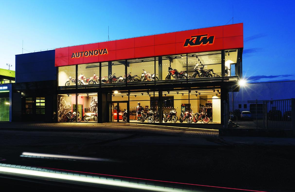 KTM Autonova Brno