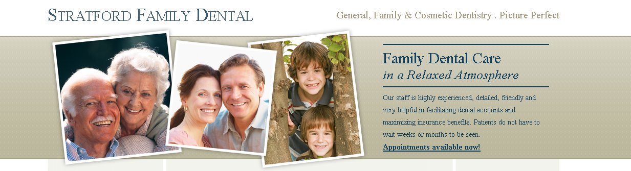 Stratford Family Dental - ad image