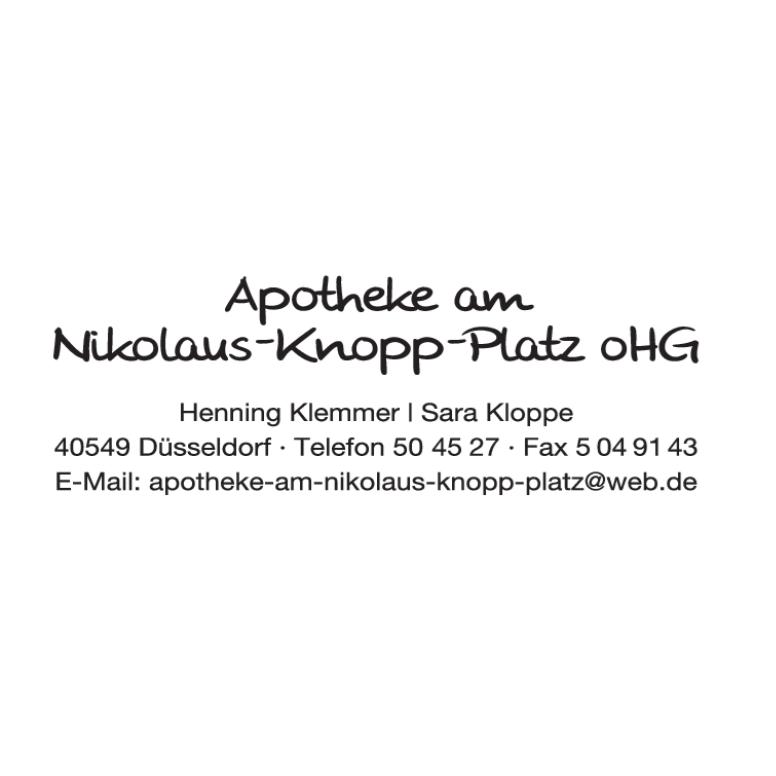 Bild zu Apotheke am Nikolaus-Knopp-Platz oHG in Düsseldorf