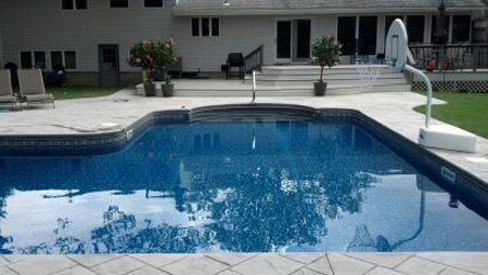 Pool designs by poolside toms river new jersey for Pool design inc bordentown nj