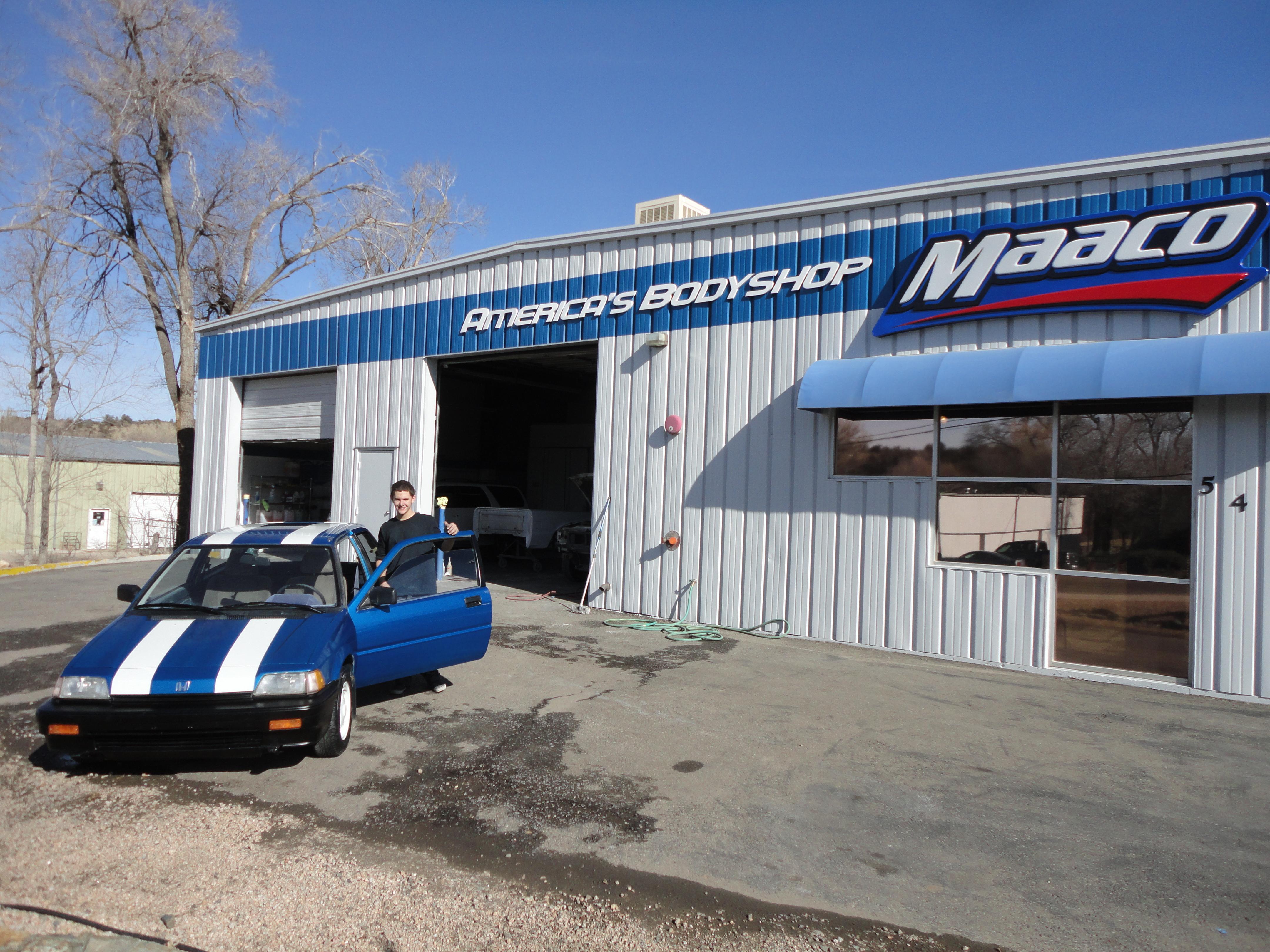 Maaco collision repair auto painting in prescott az for Auto painting az