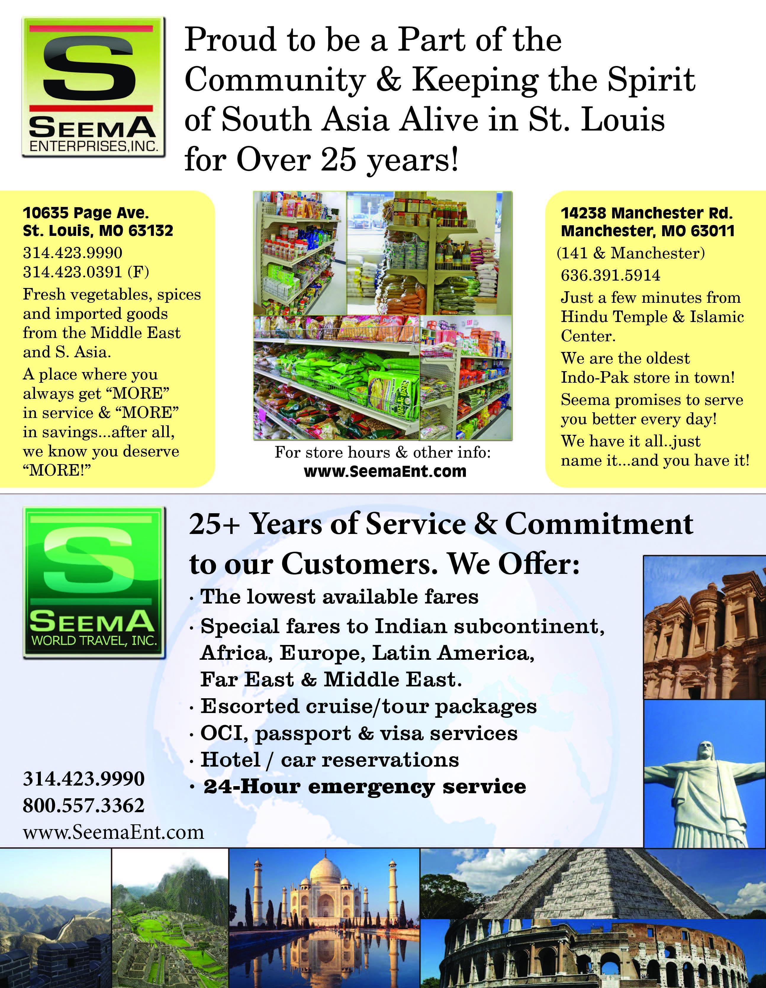Seema World Travel Inc