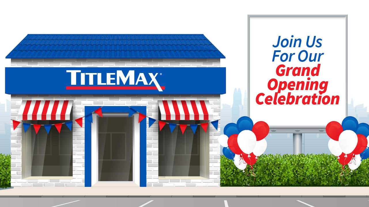Grand Re-Opening at TitleMax Americus, GA